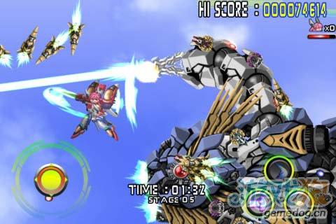 华丽飞行射击 Android游戏《人形机体》4