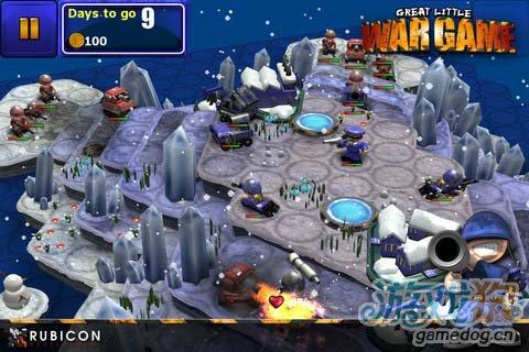 塔防游戏:小小大战争全面战争GLWG:All Out War2