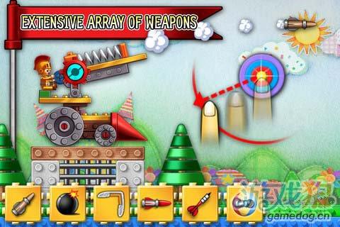 安卓版动作游戏《玩具射击》Toy Shot1