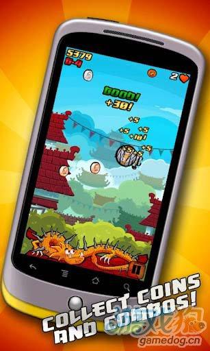 休闲游戏:重力忍者 Gravity Ninja游戏更新评测1