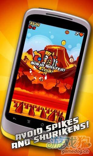休闲游戏:重力忍者 Gravity Ninja游戏更新评测3