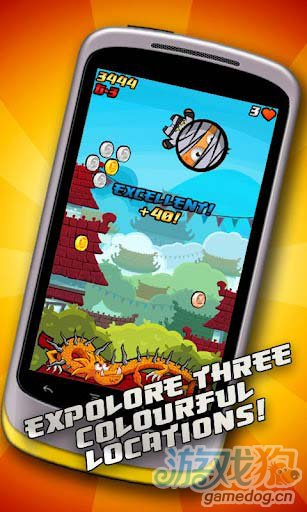 休闲游戏:重力忍者 Gravity Ninja游戏更新评测4