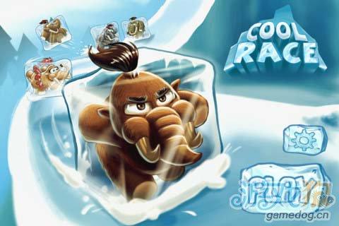 物理竞速游戏:猛犸冰川赛v1.2版评测1