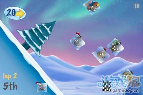 物理竞速游戏:猛犸冰川赛v1.2版评测3