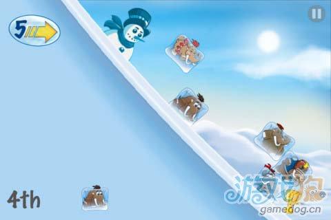 物理竞速游戏:猛犸冰川赛v1.2版评测5