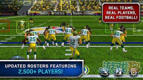 体育运动游戏:麦登橄榄球12 Madden NFL12更新评测1