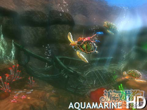 唯美海底世界:海蓝宝石AquamarineHDv1.6.0版评测2