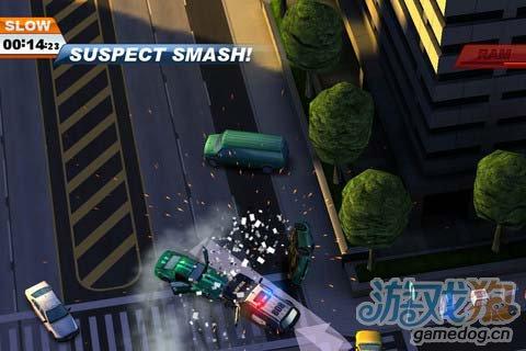 野蛮竞速游戏:亡命威龙 Smash Cops游戏更新评测1