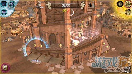 休闲游戏:创世纪之通天塔3D 化身古代巴比伦天神3