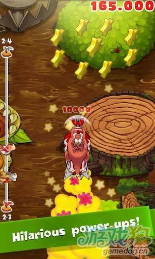 安卓版动作游戏:疯狂袋鼠 踏上归家路途3