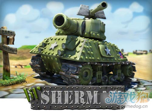 小小坦克大战《Lil' Sherman》即将发布1