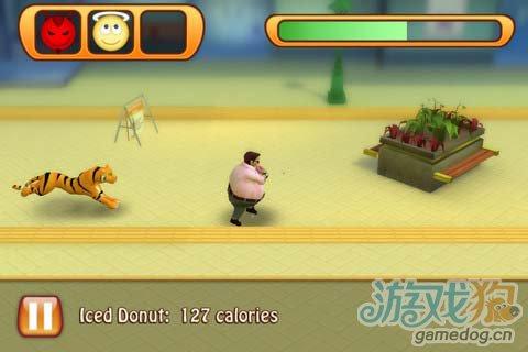 休闲游戏:胖子快跑 Run Fatty Run v1.0游戏评测1