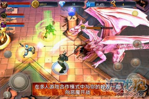 动作游戏:地牢猎手3踏入无尽战场追寻胜利与荣耀2