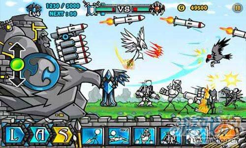 横版射击游戏:卡通战争2 v1.0.2版评测2