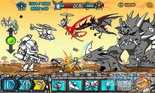 横版射击游戏:卡通战争2 v1.0.2版评测4