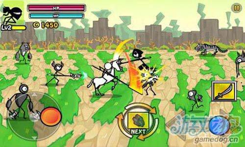 横版射击游戏:卡通战争2 v1.0.2版评测3