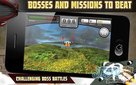 经典飞行射击游戏:无尽长空 抵御无尽敌人的猛攻3