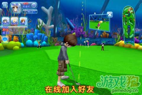 体育竞技游戏:一起高尔夫3 Let'sGolf3 更新评测4