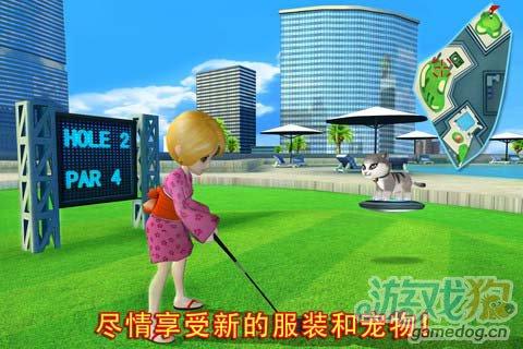 体育竞技游戏:一起高尔夫3 Let'sGolf3 更新评测2