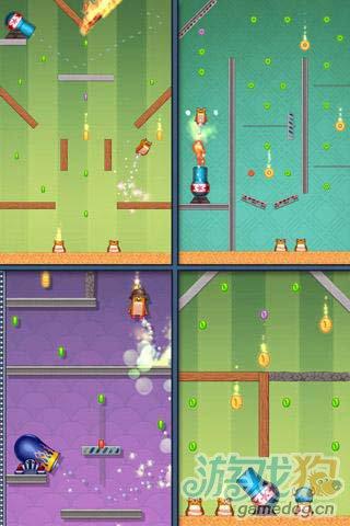 休闲游戏:仓鼠大炮 快来帮仓鼠收集更多的金币吧5