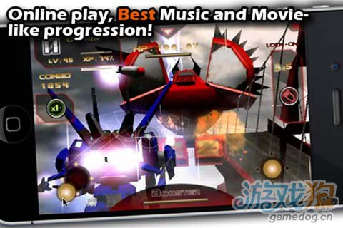 射击游戏:激战天空 享受360度3D的视野2