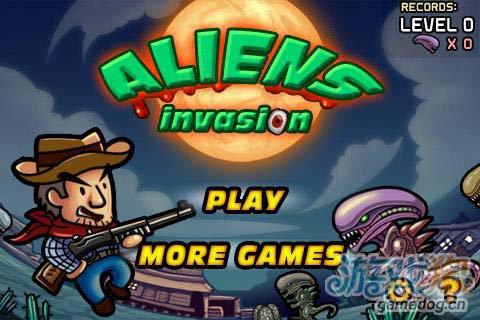 动作射击游戏:异形入侵 消灭异形为了生存战斗吧1