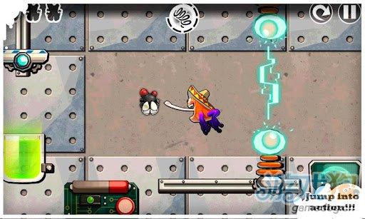 休闲游戏:跳跃赫伯特 逃脱疯狂科学家的邪恶魔掌3
