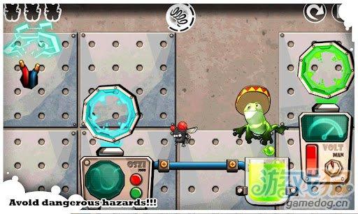 休闲游戏:跳跃赫伯特 逃脱疯狂科学家的邪恶魔掌4