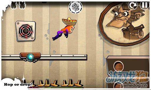 休闲游戏:跳跃赫伯特 逃脱疯狂科学家的邪恶魔掌2