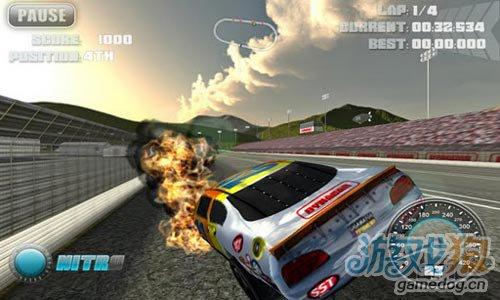 安卓竞速游戏:NOS汽车挑战赛更新评测3