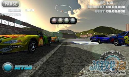 安卓竞速游戏:NOS汽车挑战赛更新评测5