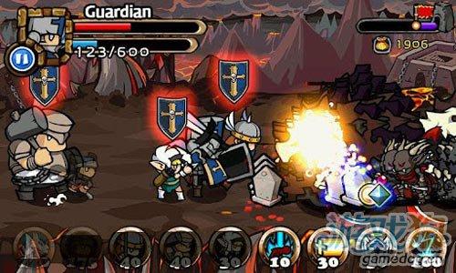 韩式画风塔防策略游戏:传奇塔防 抵御敌人的侵袭3