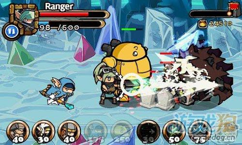 韩式画风塔防策略游戏:传奇塔防 抵御敌人的侵袭1