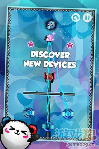 休闲游戏:纳米熊猫 巧妙运用物理来完成纳米冒险5