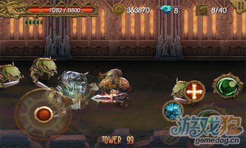 动作游戏:神鬼战士 厮杀吧活着从死亡之塔逃出去2
