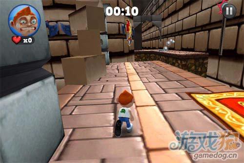 推到萝莉更需强劲体魄 宅男健身从跑酷游戏开始6