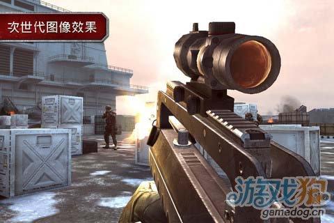 射击游戏:现代战争沙漠风暴 战争来袭4