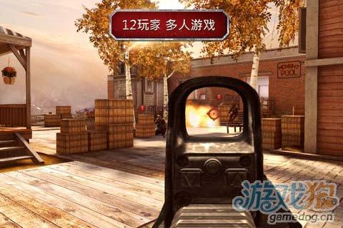 射击游戏:现代战争沙漠风暴 战争来袭3