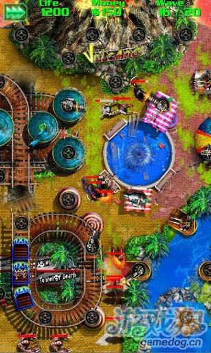 策略游戏:丧尸围城 奋力抵御丧尸侵入1