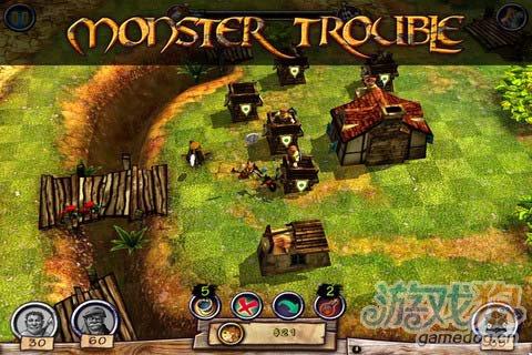 卡通奇幻风格游戏:怪物防御 更新评测2