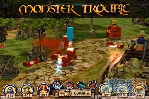 卡通奇幻风格游戏:怪物防御 更新评测5