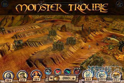 卡通奇幻风格游戏:怪物防御 更新评测4