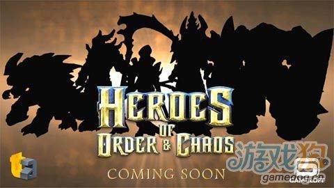 Gameloft新游Heroes of Order & Chaos预告1