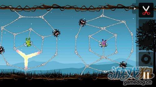休闲游戏:贪婪的蜘蛛 大家快来阻止邪恶的蜘蛛吧2