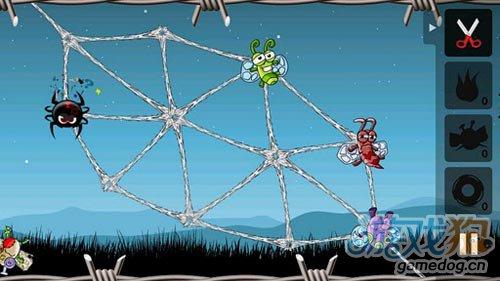 休闲游戏:贪婪的蜘蛛 大家快来阻止邪恶的蜘蛛吧1
