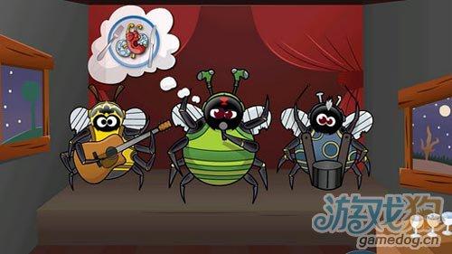 休闲游戏:贪婪的蜘蛛 大家快来阻止邪恶的蜘蛛吧3