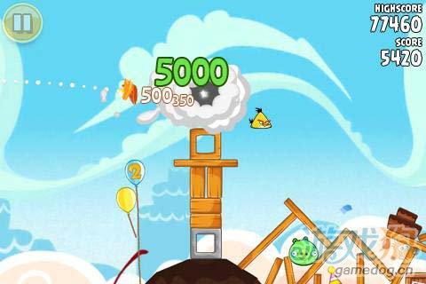 休闲游戏:愤怒的小鸟 小鸟开始复仇了2