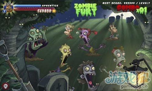 策略游戏:守墓者 为了防止僵尸入侵墓地消灭他们1