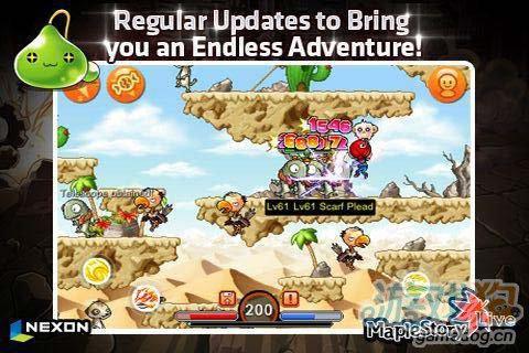 冒险游戏:枫叶冒险岛 去探索冒险岛吧5