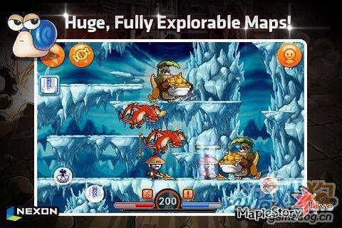冒险游戏:枫叶冒险岛 去探索冒险岛吧4